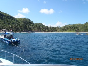 Diving near Nusa Pedina, east Bali.