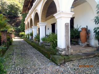 Huston's hacienda. Now a hotel.