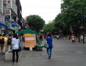 Shopping street. Loved it