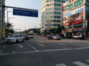 Incheon. Weird parking jobs all over