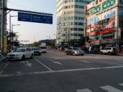 Incheon. Weird parking jobs all over