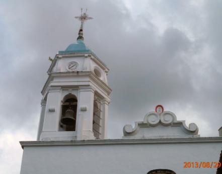 The church in San Sebastian. Amazing interior.