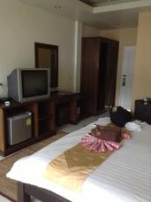 My hotel room at Ananda Villa.