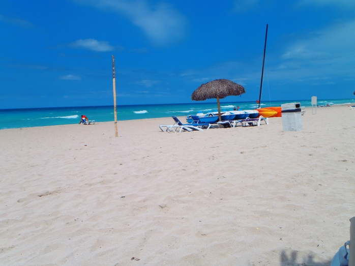 I love Cuban beaches. Keep them beautiful.