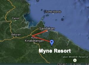 Journey to Myne Resort.